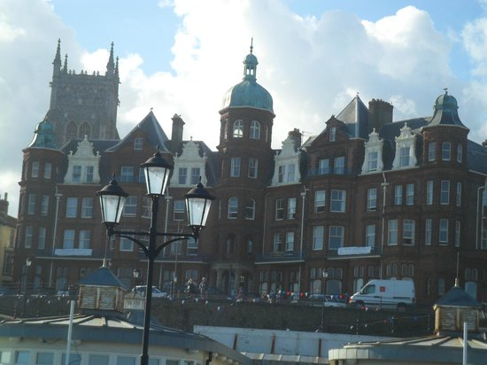Cromer, UK: View of hotel