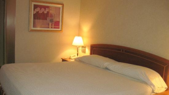Budget Inn & Suites: Hotel Rom Bed