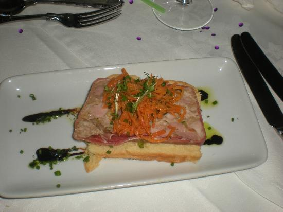 Housel Bay Hotel & Restaurant: My starter of Pork Terrine