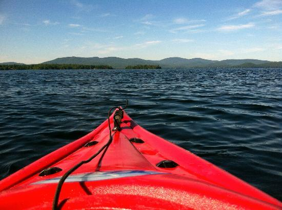 The Wolfeboro Inn: Kayaking on Lake Winnipesaukee
