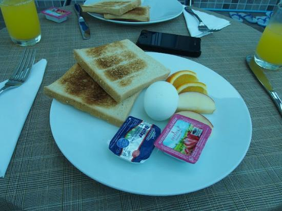 Hotel Elite Inn: Breakfast