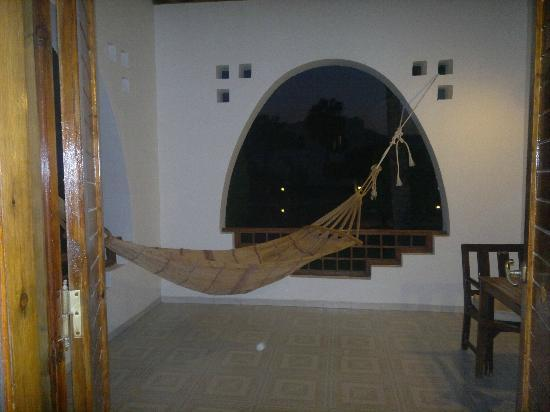 Hilton Dahab: my own hammock ... wonderful