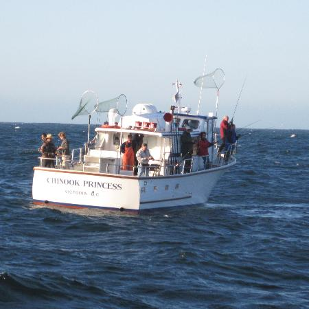 Canadian Princess Fishing Lodge & Marine Adventures: On the fishing grounds
