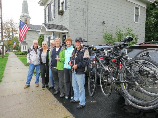 Canajoharie, Nueva York: Ready for the Erie Canal cycling