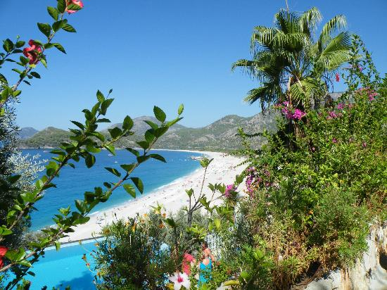 Beyaz Yunus Olu Deniz: View of the beach