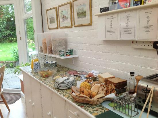 The Old Rectory Bed & Breakfast: The Breakfast & Menu