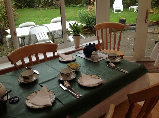 The Old Rectory Bed & Breakfast: Welcoming Table Setting