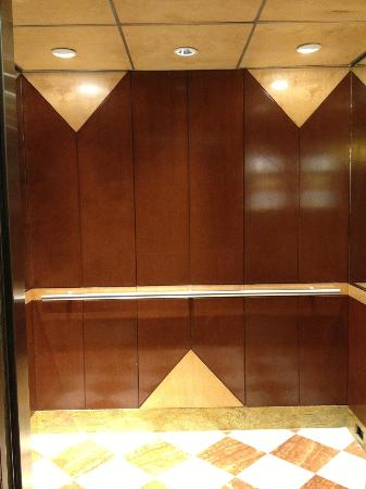 Crowne Plaza Houston River Oaks: Elevators are bright and updated