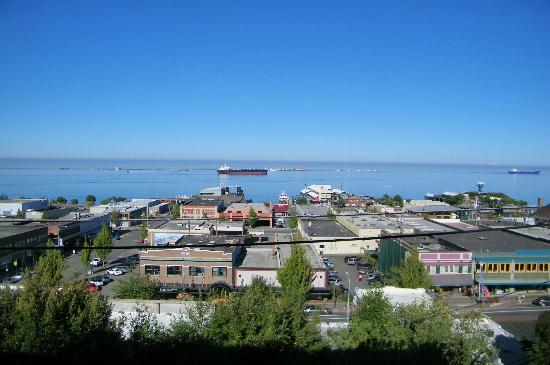 Port Angeles Inn: View from our room