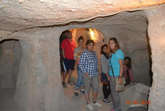Underground in Kapadokya - Picture of HTR Cappadocia Tours ...