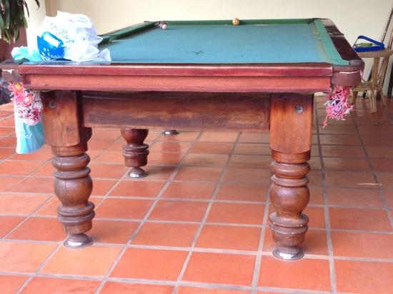 Lotus Lodge: pooltable