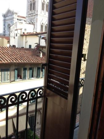 Hotel Medici: gorgeous deck and view from our room