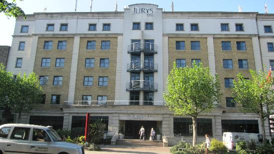 Jurys Inn London Islington: Faade