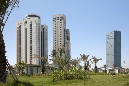 Awal Hotel: Tripoli's foremost business towers within easy reach