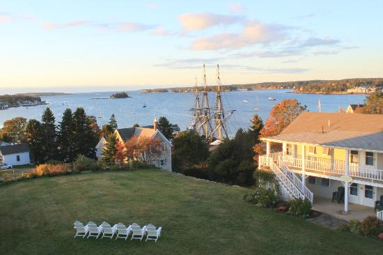 Topside Inn: view from our room