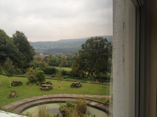 The Manor Hotel: View from bedroom window.
