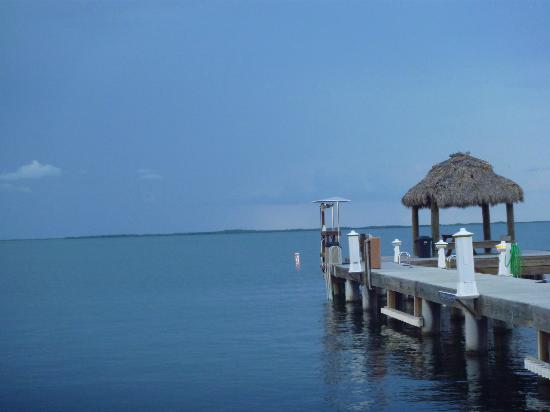 Azul del Mar: View from our dock