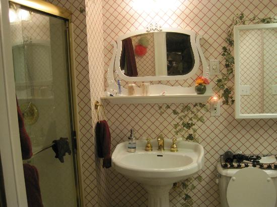 1868 Crosby House: bathroom