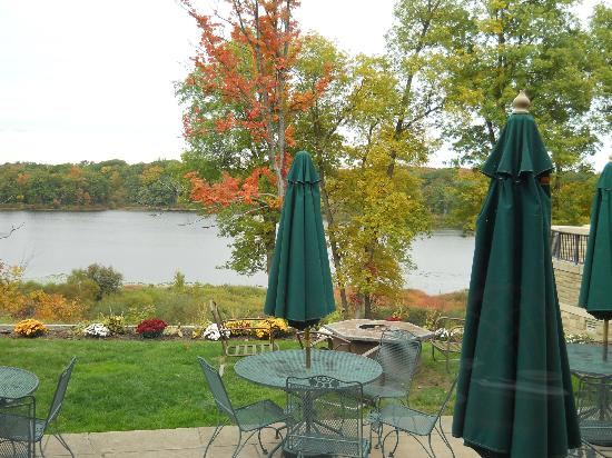 Punderson Manor Lodge and Conference Center: View from the manor house restaurant