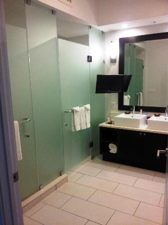 Hyatt Miami at The Blue: The ridiculously large bathroom!