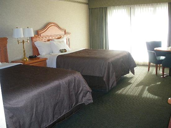 Banff Park Lodge Resort and Conference Centre: good size room