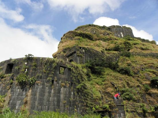 Lohagad Fort Complete View From Outside Picture Of