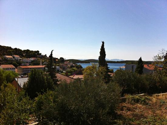 Villa Skansi: View of the island from the hostel balcony