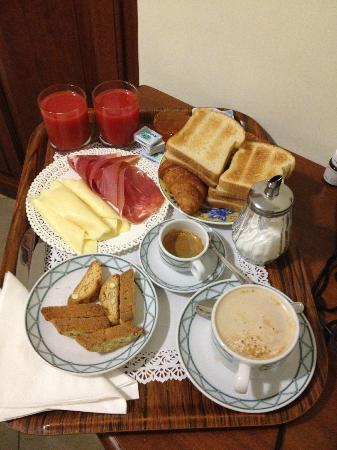 Hotel De Monti : The breakfast I truly miss!