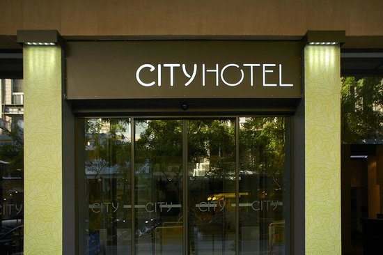 City Hotel Thessaloniki: Hotel entrance