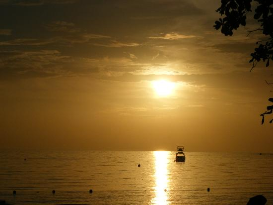 Sandals Negril Beach Resort &amp; Spa: Our last night sunset