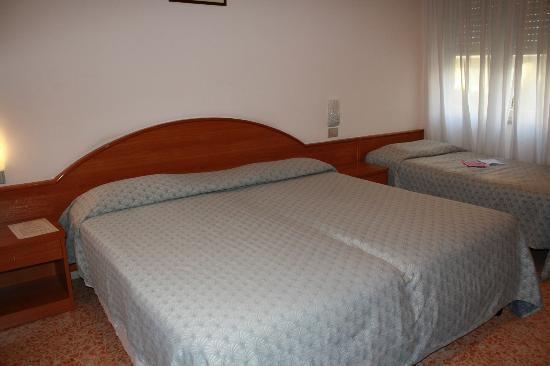 La Meridiana: The beds