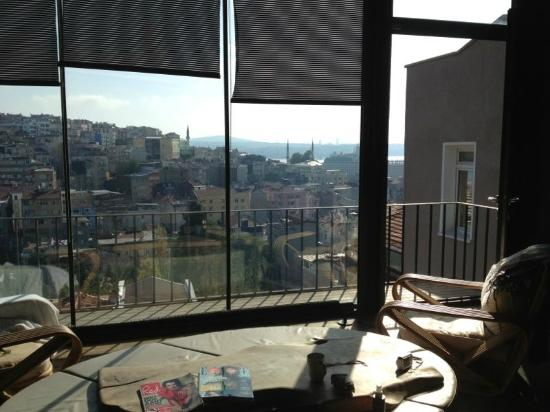 4floors Istanbul: view from penthouse