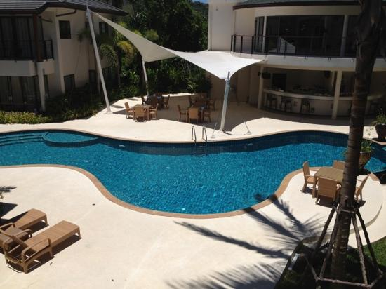 Samui Emerald Condotel: Pool view