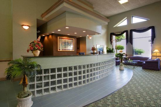 Americas Best Value Inn Tunica Resort: front desk