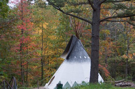 Rawhide Ranch: Tee Pee for camping