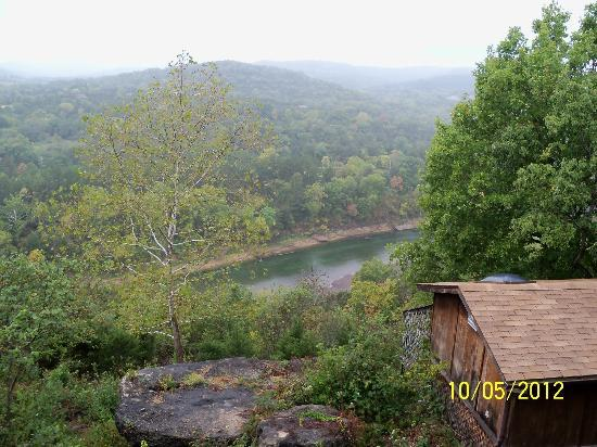 Arkansas White River Cabins: view from our porch
