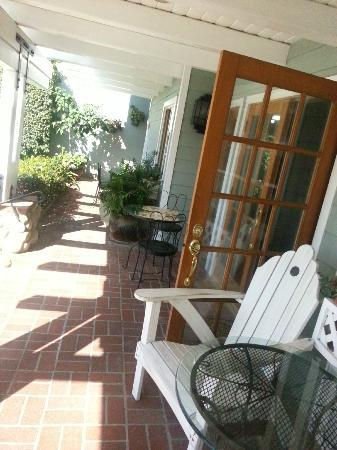 Front Patio at Inn On Summerhill