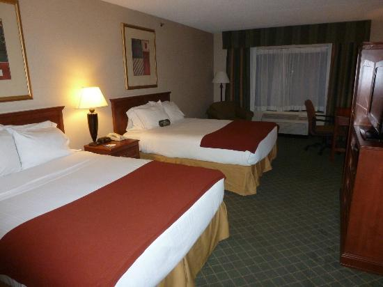 Holiday Inn Express Auburn: Room