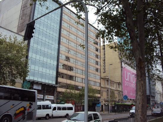 Hotel Libertador  bem decente.