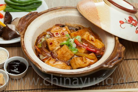 how to cook chinese braised chicken and vegetables
