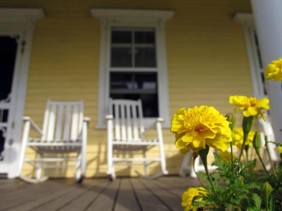 The Hygeia House: Front Porch