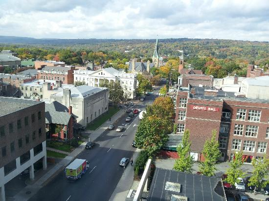 Hilton Garden Inn Ithaca: Downtown Ithaca (From Room 724)