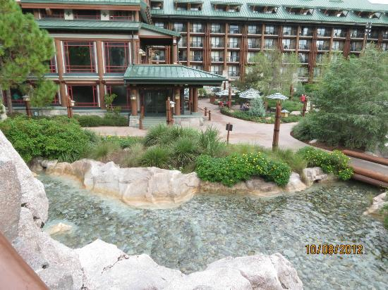 The Campsites at Disney's Fort Wilderness Resort: Waterfall