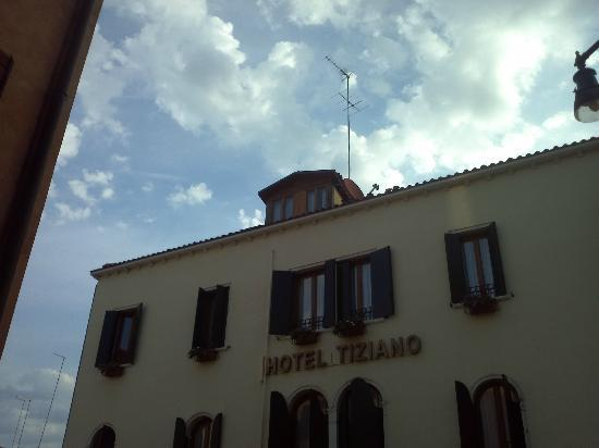 Hotel Tiziano : Room on the top 