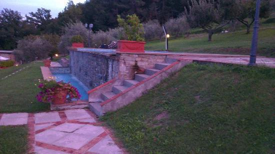 Hotel Villa Volpi: Infinity pool