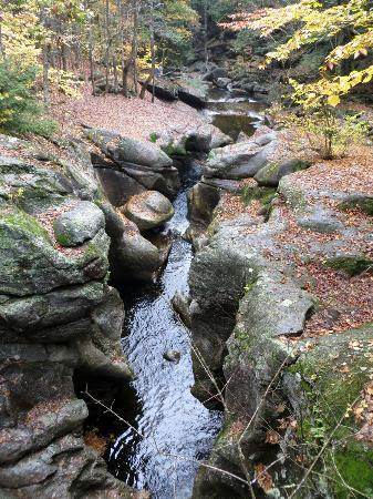 Hebron, Nueva Hampshire: Cockersmouth River gorge