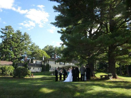 Outdoor Wedding at The Manor on Golden Pond