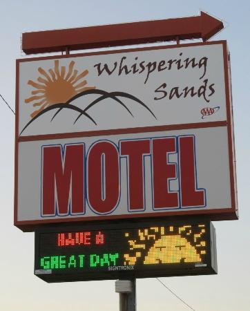 ‪‪Whispering Sands Motel‬: Whispering Sands Motel, Hanksville, Utah‬