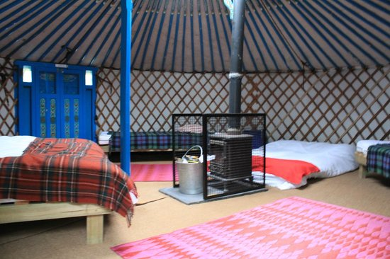 Meon Springs Yurt Village