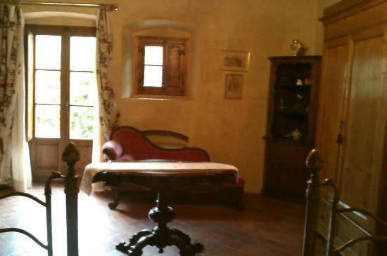 Villa Il Paradisino: our twin room